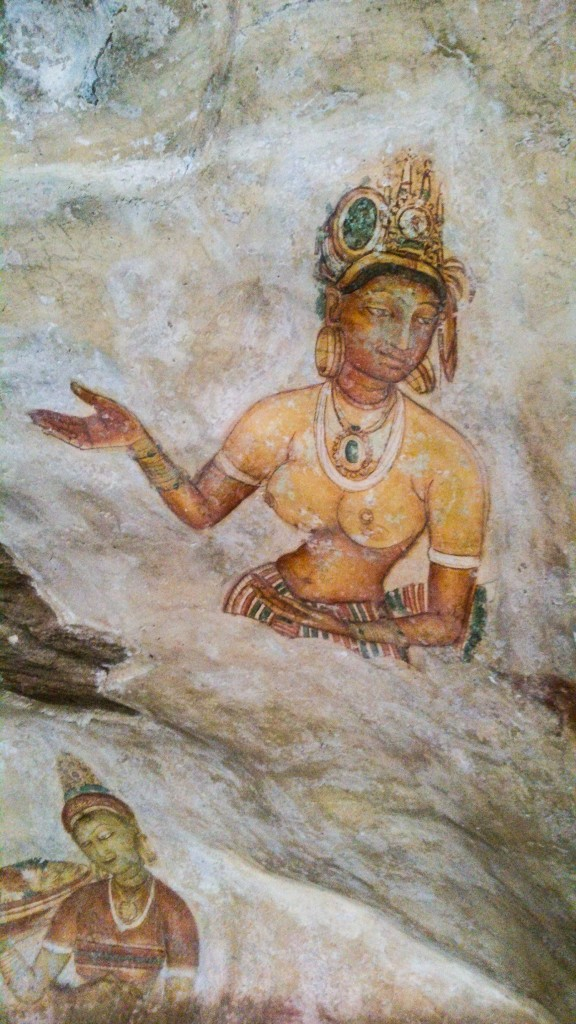 Sigiriya-Wall-Paintings-10