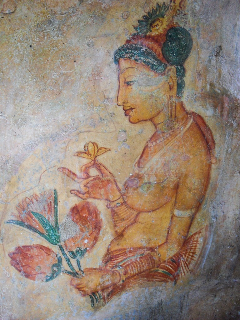 Sigiriya-Wall-Paintings-2