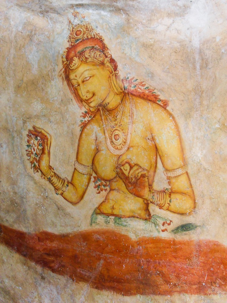 Sigiriya-Wall-Paintings-4
