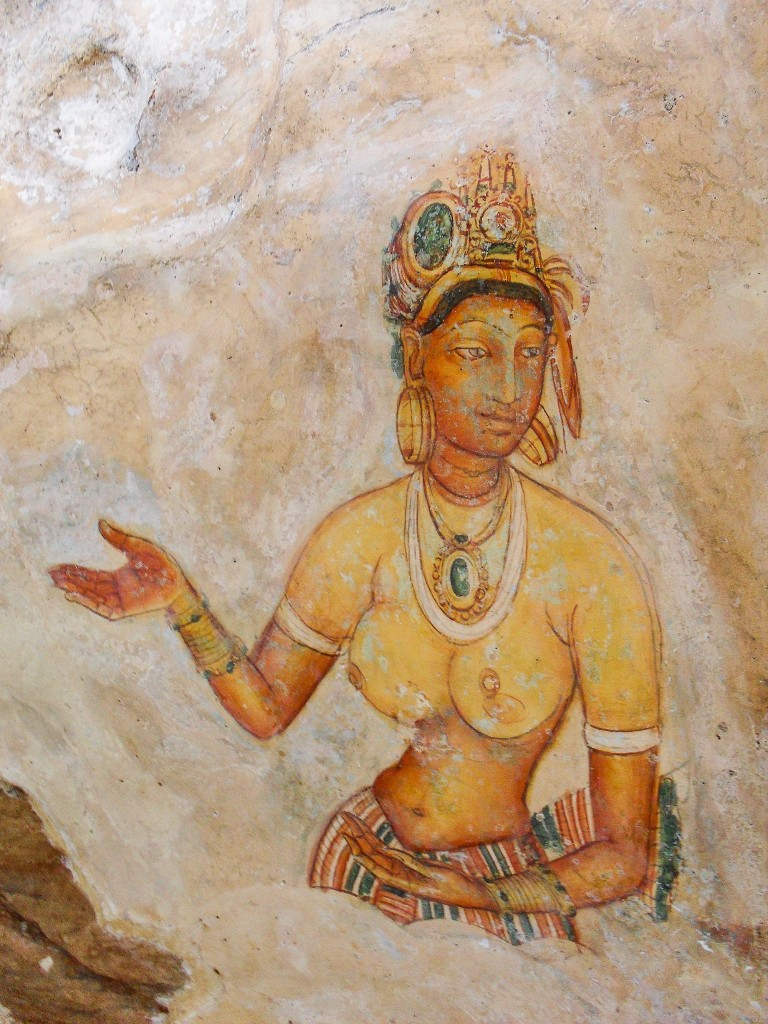 Sigiriya-Wall-Paintings-5