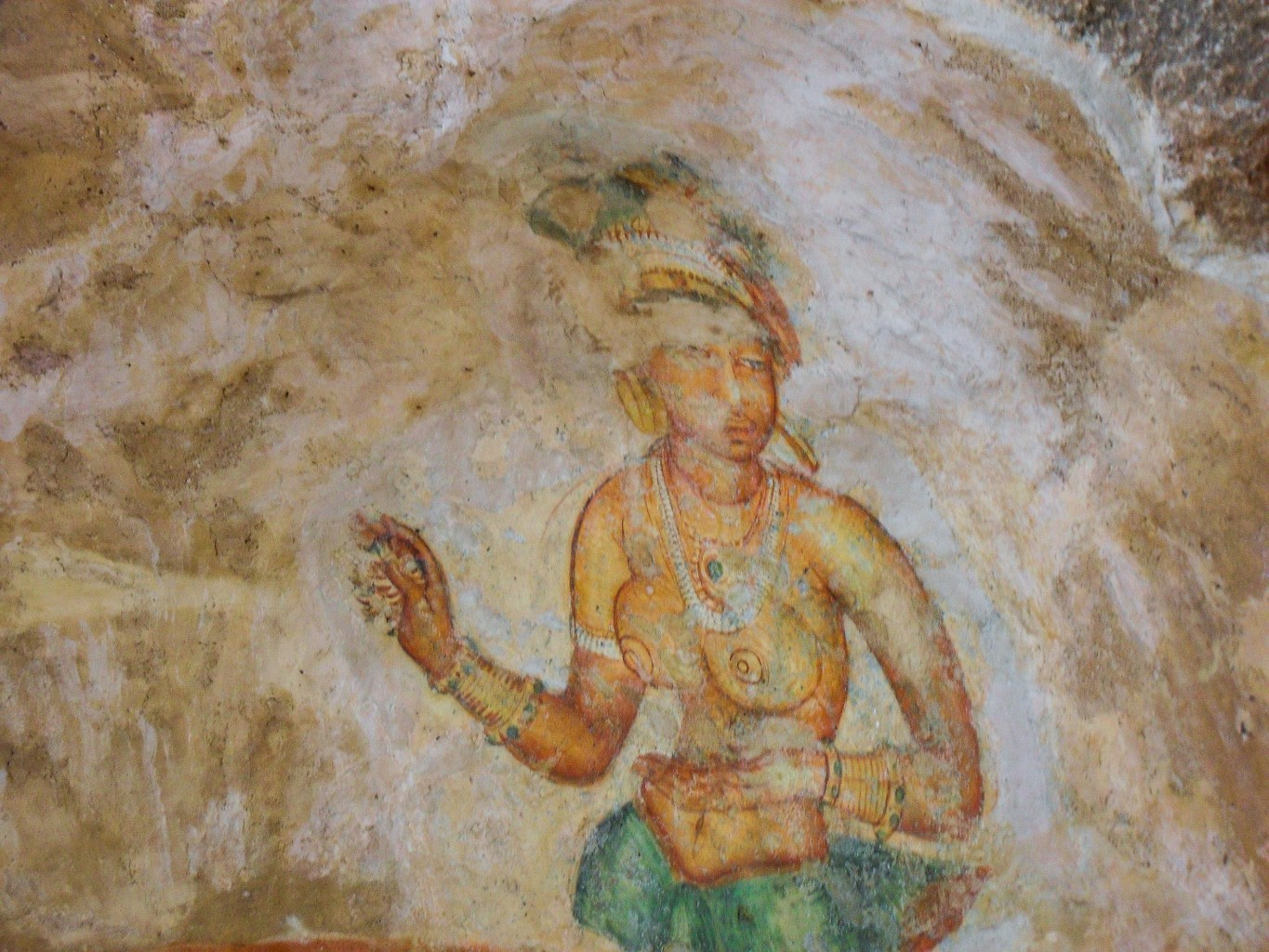 Sigiriya-Wall-Paintings-7