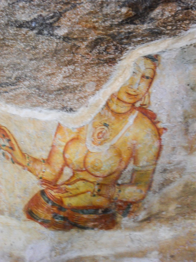 Sigiriya-Wall-Paintings-8