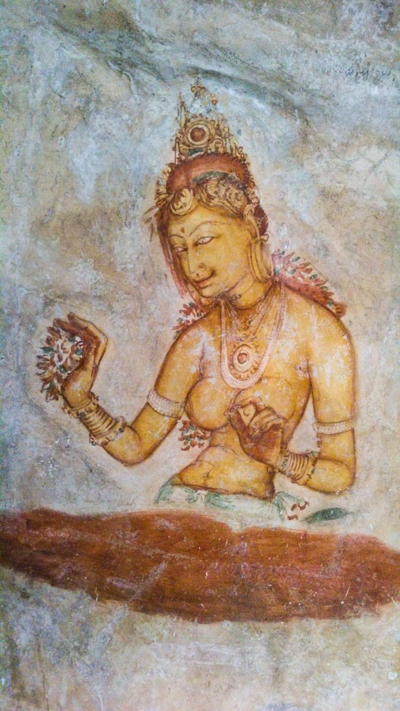 Sigiriya-Wall-Paintings-9